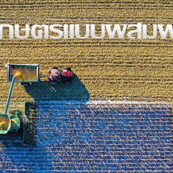ทฤษฎีการเกษตรแบบผสมผสาน มาจากรากฐานปรัชญาแห่งเศรษฐกิจพอเพียง